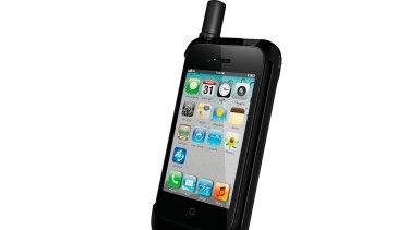 Thuraya SatSleeve: Turns the iPhone into a satellite phone.