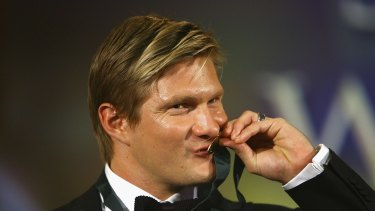 Decorated: Shane Watson has won the Allan Border Medal twice.