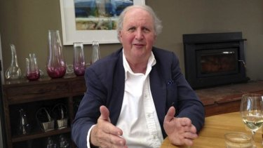 Writer Alexander McCall Smith.