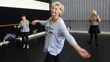 Ageing gracefully ... Kerrie Adams, who has been dancing for three years, concurs with a study that has found dancing is one of the best exercises for seniors.