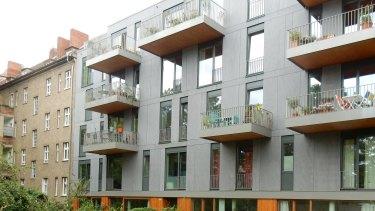 The Pankow apartment development.