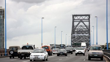 Motorists will be asked to slow down on the Story Bridge at night.