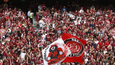Claims of harsh treatment: A Western Sydney Wanderers fan told the 7.30 program of his treatment by the FFA.