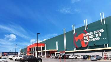 Bunnings has grown at an enormous rate over the past five years.
