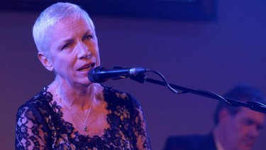 Annie Lennox, ex-Eurythmics singer, is not a fan of 'pornographic' music videos seen today.