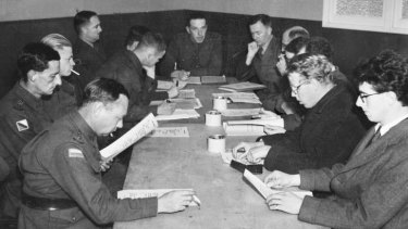 Backroom boys at war: the Army Directorate of Research and Civil Affairs