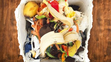 What a waste...  Australians waste 20 per cent of the food they buy.