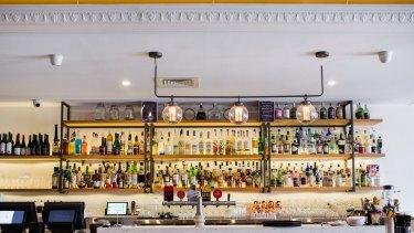 Tipsy Bull bar and restaurant in Braddon.