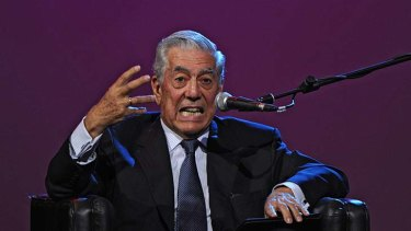 Beloved author Mario Vargas Llosa has attracted ire for his election views.