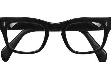 Patrick White's glasses.