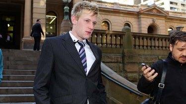 Facing court: Matthew Flannery.