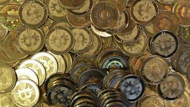 Hot commodity: Bitcoin.