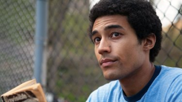 Devon Terrell as Barack Obama in <i>Barry</i>.