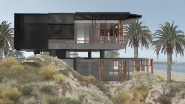 The design for the new Stokehouse in St Kilda.