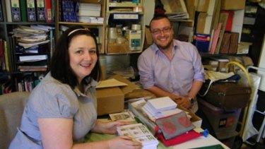 Anna Blandford and Gareth Meney, the creative team behind Able & Game.