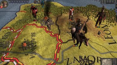Wrest control of a fractured realm in Crusader Kings II