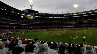 Conditions this week at the grand final could be similar to those at the 2009 decider when St Kilda lost narrowly to Geelong.