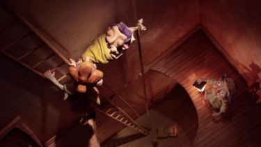 The Story Of Percival Pilts, by Janette Goodey and John Lewis, reaches heights of stop-motion.