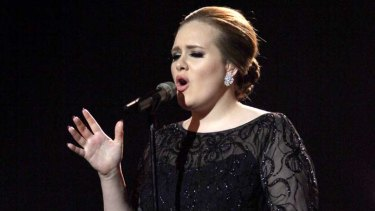 Leader of the pack ... Adele holds the record for the biggest-selling album of 2011.