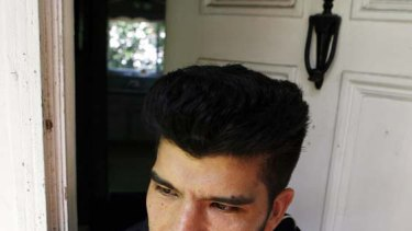 Waldomar Mariscal, son of Vicky Pelaez and Juan Lazaro who were arrested on charges of spying for the Russians.