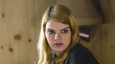 Sianoa Smit-McPhee in the TV series <i>Hung</i>.