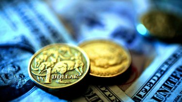 The Aussie's new-found strength is mainly due to the greenback weakening.