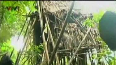 The father and son's residence, as shown on Vietnamese television.