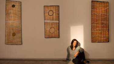 Hetti Perkins has curated Earth and Sky, an exhibition of works by Aboriginal artists from northern Australia at TarraWarra Museum of Art.
