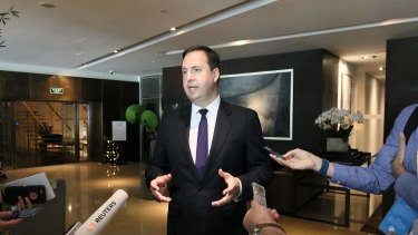 Minster of trade, tourism and investment Steven Ciobo says trade links are already developing.