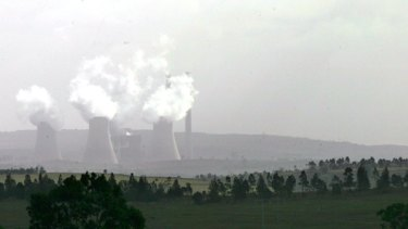 Court action ... the Bayswater  power station.