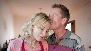 Cate Blanchett and Richard Roxburgh.