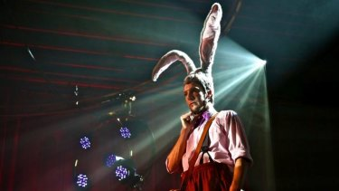 Hare-raising: Jack Hare (Nathan O'Keefe) is a bumbling rabbit on a mission.