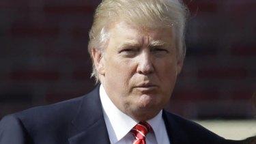 Donald Trump ... Twitter comments drew condemnation.