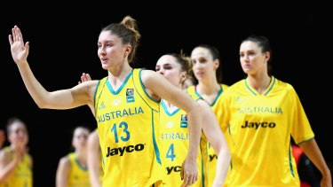 Olympics bound: The Opals have sealed their place in Rio.