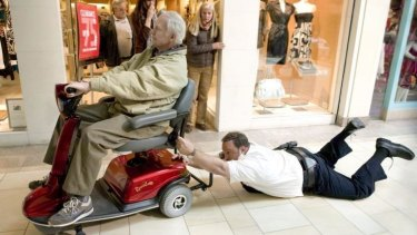 Following conventions: Kevin James as the hapless everyman in <i>Paul Blart: Mall Cop 2</i>.