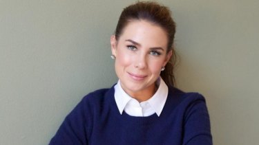Kate Ritchie has become a mother.