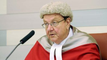 New South Wales Supreme Court Justice Anthony Whealy.
