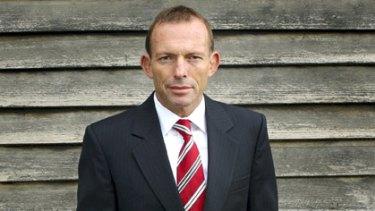 Admission ... Opposition Leader Tony Abbott.