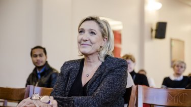 France's Far-right National Front Party leader Marine Le Pen represents a global rise in populist nationalism.