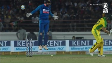 India win by 36 runs as K.L. Rahul dominates with a handy 80 runs off 52 balls. Steve Smith falls on 98 as Australia run out of puff in the late stages. The series is now tied 1-1.