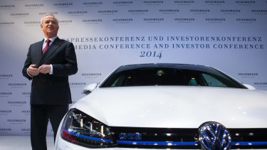 Martin Winterkorn, chief executive officer of Volkswagen AG.