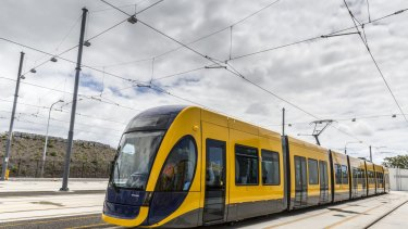"Palisade has a 16.7 per cent equity interest ""both stages"" of the Gold Coast's light-rail project."