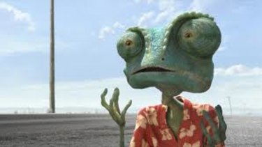 Give me an audience: A method acting-obsessed gecko finds purpose in the unusual animated treat Rango.