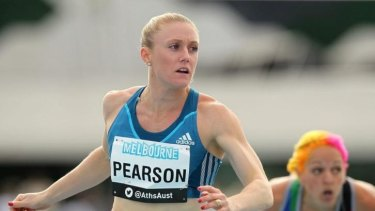Sally Pearson has been eager to replicate the sort of season she had in 2011.