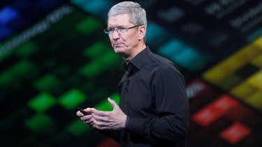 Tim Cook, chief executive officer of Apple.