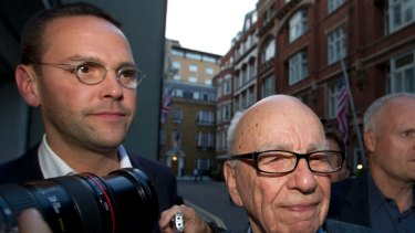 Brinkmanship: The phone hacking scandal could throw another spanner Rupert Murdoch and his son James' plans for Sky.