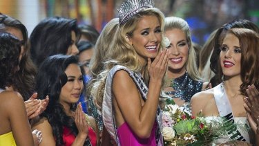 Newly crowned Miss USA Olivia Jordan of Oklahoma told the judges it was time to have a conversation about race in this country.