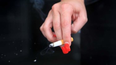Cigarette taxes may be raised to cover a budget shortfall.