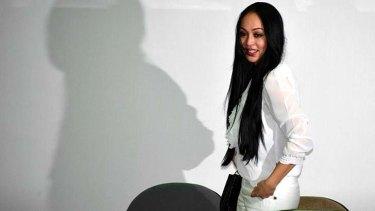 Doing prison time ... Angelina Sondakh.
