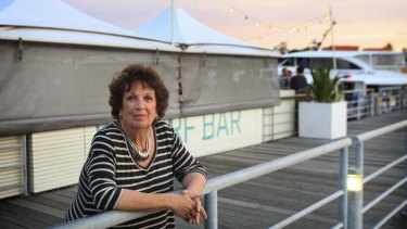 Speaking up: Kandy Tagg, who is against a new Manly wharf venue.